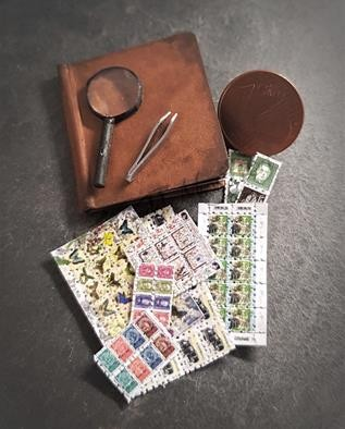 Briefmarken-Sammel-Set