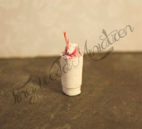 Himbeer Milch Shake